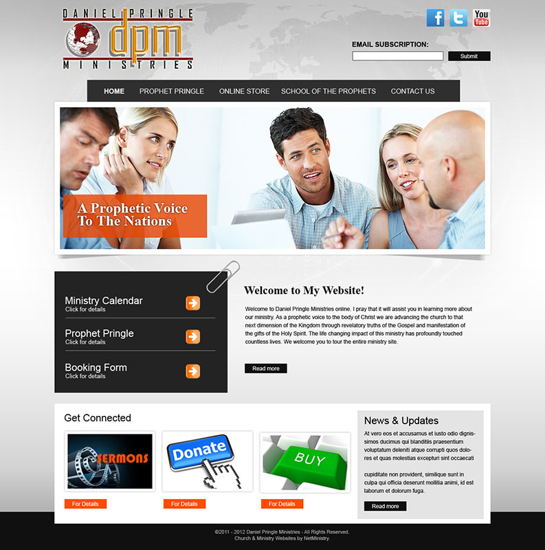 Website Services for Pregnancy Centers and Clinics