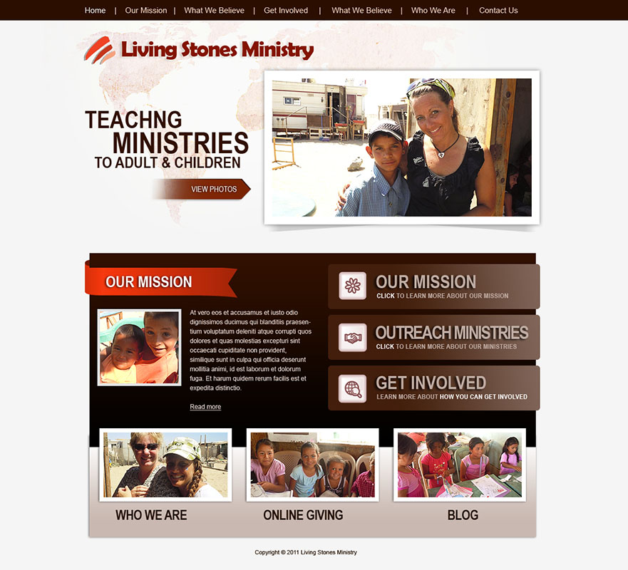 Ministry Websites Templates